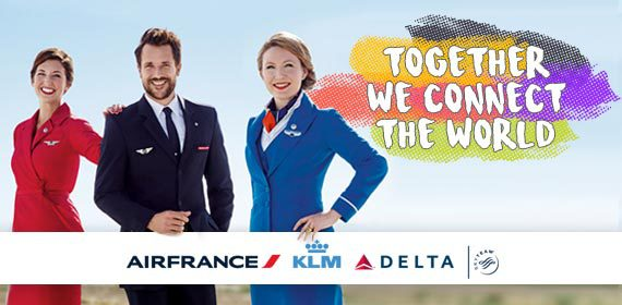 Together we connect the world - Air France, KLM, Delta