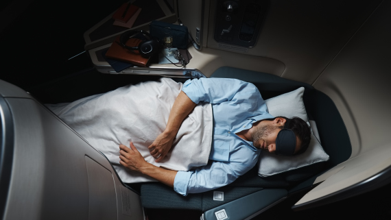 Business Class Cathay Pacific Airways