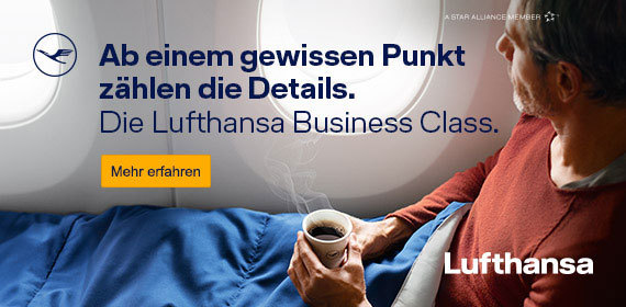 Fly Lufthansa Business Class